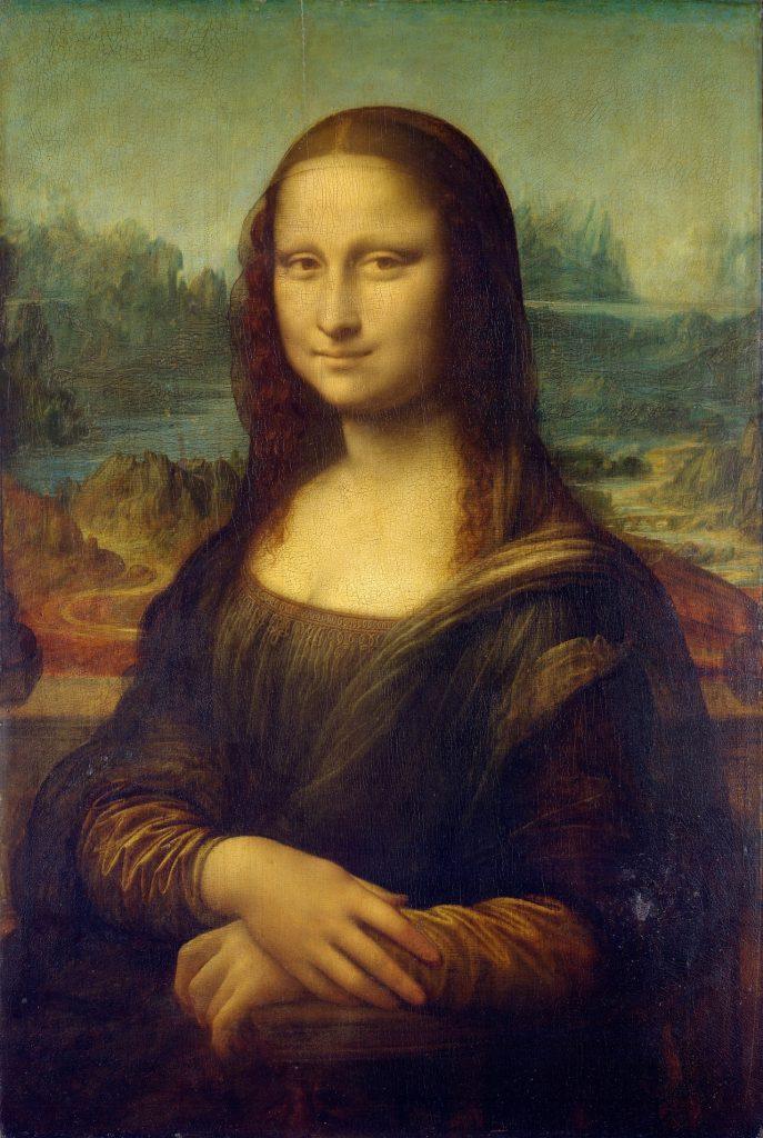 Mona Lisa Leonardo Da Vinci La Painting