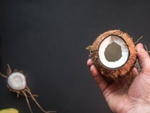 cocnut help in prevent hairfall